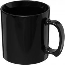 Standard 300 ml kunststof mok - Zwart