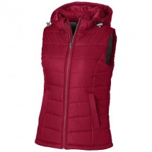 Mixed doubles dames bodywarmer - Rood