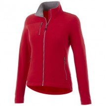Pitch dames microfleece jack - Rood