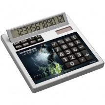 Calculator Own Design met inlegplaatje zonder gaatjes - wit