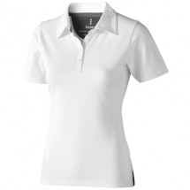 Markham dames polo met korte mouwen - Wit