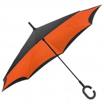 Omklapbare paraplu - oranje