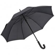 Paraplu met aluminium handvat - zwart