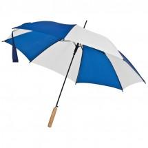 2-Kleurige paraplu - blauw
