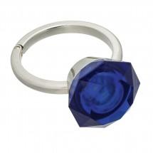 2 in 1 LED handtaslicht met tassenhaak REFLECTS-MARIKINA BLUE