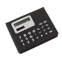 Memobox with calculator,  black