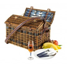 "willow picnic basket ""Summertime"""