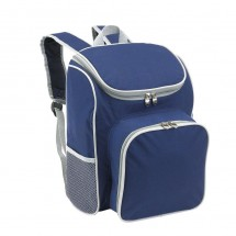 "Picnic backpack ""Outside"",blue/ grey"