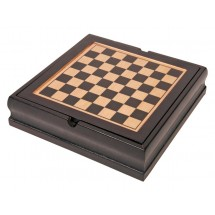 "Game set ""Family-fun"" in wooden box"