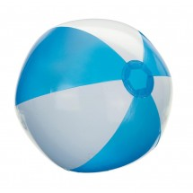 "Inflatable beach ball 16"" Turquois/White"