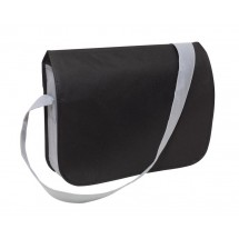 "Shoulder bag ""Smart"" non-woven, black"