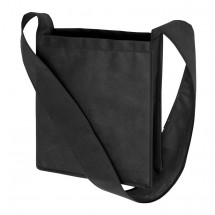 "Non-woven shoulder bag ""Mall"", black"