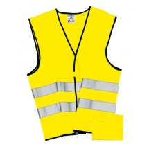 "Emergency vest, neon yellow ""Hero"""