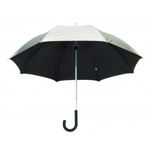 "Alu-Golf umbrella ""Solaris"" silver/black"