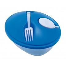 "salad bowl ""Eat fresh"" light blue"