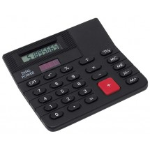 "Mini-desk top calculator ""Corner"", black"