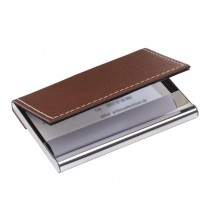 "Namecard holder ""Superb"" , brown"
