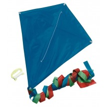 "Promotion kite, blue, 70X58 cm ""Looping"""