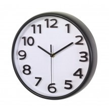 "wall clock ""Halley"" , black"