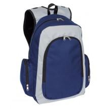 Backpack 'Urban' 600D, blue/grey