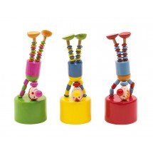"Push puppets ""Crazy clowns"""