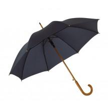 "Autom. woodenshaft umbrella""Tango"" navy"