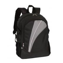 Backpack 'Stream' 600D, black/grey