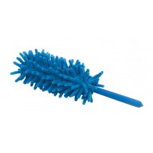 Telescopic Chenille duster, blue
