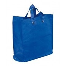 "Shopper ""Palma"",non-woven,foldable, blue"
