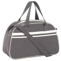 "Sports bag ""Vintage"" grey/offwhite"