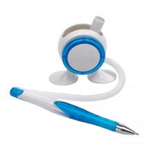 "pen holder ""Leggy"", blue"