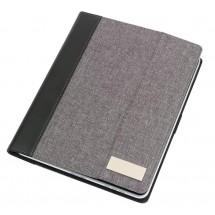 "Tablet Portfolio ""LINEN"", blck/grey"