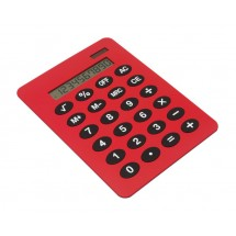 DIN A4 desk calculator, RED