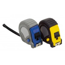 "Measuring tape  ""Workman"" 3 m, blue/grey"