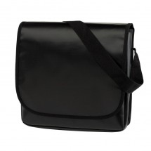 "Shoulder Bag ""Clever"" PVC, black"