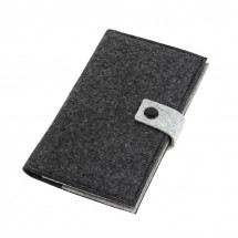 "Felt wallet ""Edition"", grey"