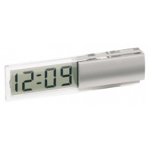 "Desk clock w/ transparent LCD ""Digi"""