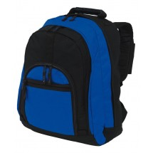 Rucksack'NEW CLASSIC' 600D, black/blue