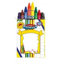 """Wax crayons """"Imagine"""", 8pcs., small"""