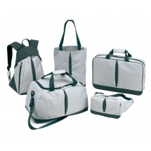 "Travel set, 5pcs. ""Basic"" 600-D, grey"