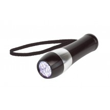 "Aluminum torch ""Dark Night"", black"