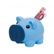 "Piggy bank ""Money Collectorr"", blue"