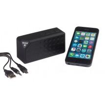 "Bluetooth/MP3 loudsp. ""CUBOID"", black"