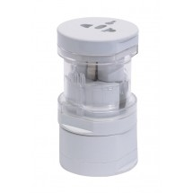 International Travel Plug Adapter, white