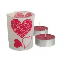"""Candle """"forever love"""""""""""