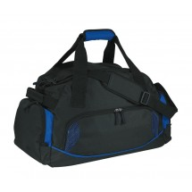 Sports bag'Dome'600-D, black/blue