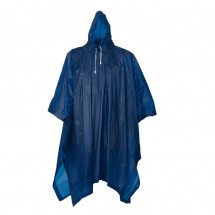 "Bicycle Poncho, blue ""Keep dry"""