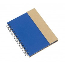 "notebook with sticky notes ""Magny"", blue"