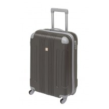 "Trolley-Boardcase ""Rom"" ,ABS, dark grey"