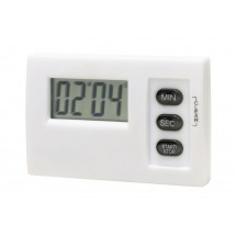 "LCD timer w/ magnet, ""Magnetic"" white"